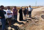 الميتروبوليت جاورجيوس يتفقّد مشروع الدعم الزراعيّ