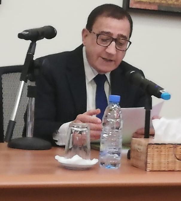 محاضراً في جامعة البلمند -خريف 2018