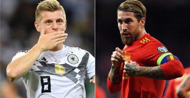 الإسبان يتعادلون من الألمان